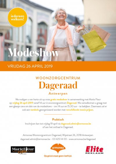 Poster modeshow Dageraad