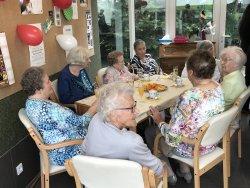 Gallery De viering van onze 100-jarige bewoonster; Martha Vandereycken.